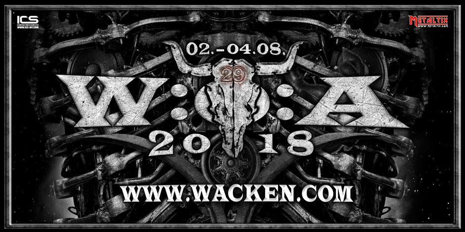 Wacken Open Air Banner 2018