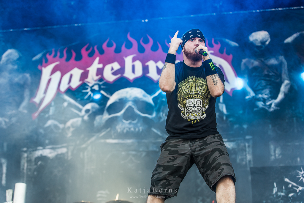 Hatebreed With Full Force 2016