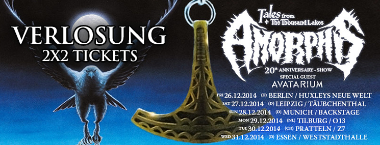 Twilight AMORPHIS Tales From The Thousand Lakes2014