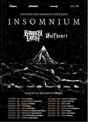 insomnium tour 2017
