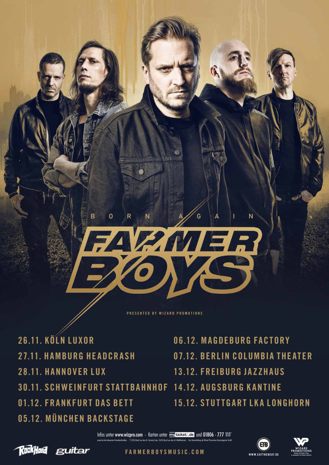 Farmer Boys Tour 2018