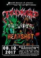 Tankard, Revolt, Headshot