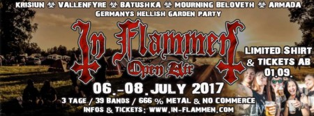 In Flammen Open Air 2017 - Festivalbericht
