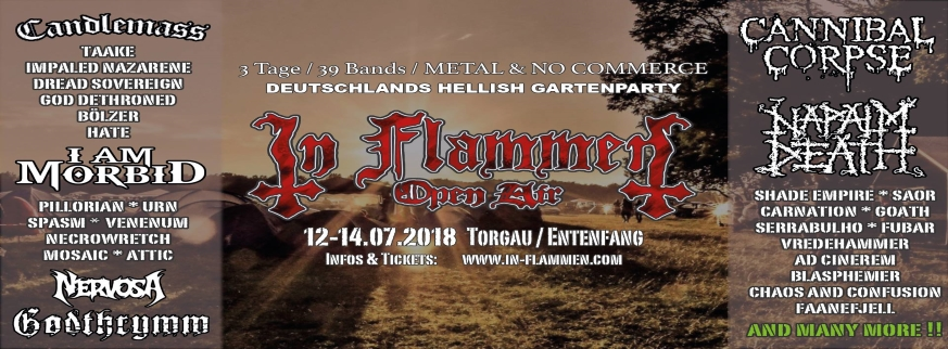 In Flammen Open Air 2018