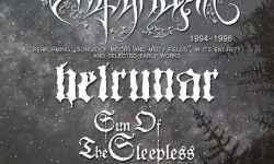 Empyrium, Helrunar & Sun Of The Sleepless - Heralds Of The Fall Tour 2018 - Hellraiser Leipzig