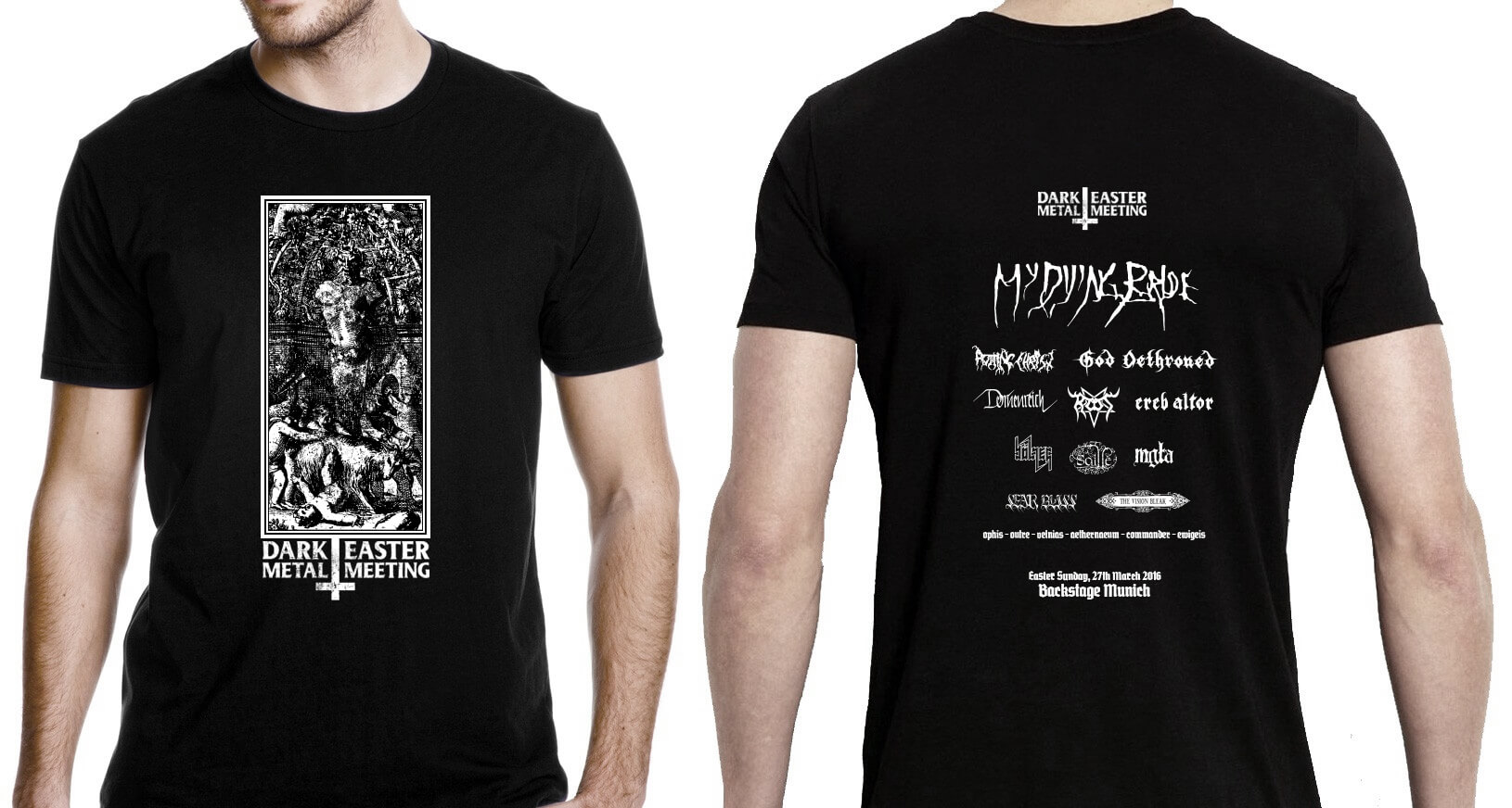 Dark Easter Metal Meeting 2016 T Shirt