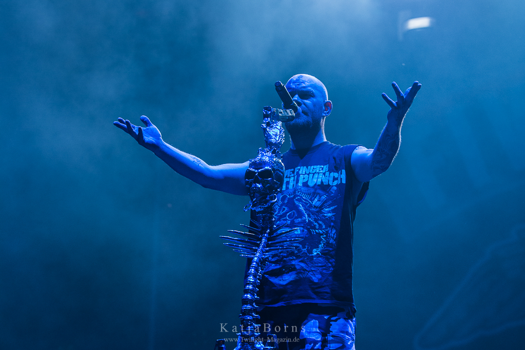 Five Finger Death Punch With Full Force 2016