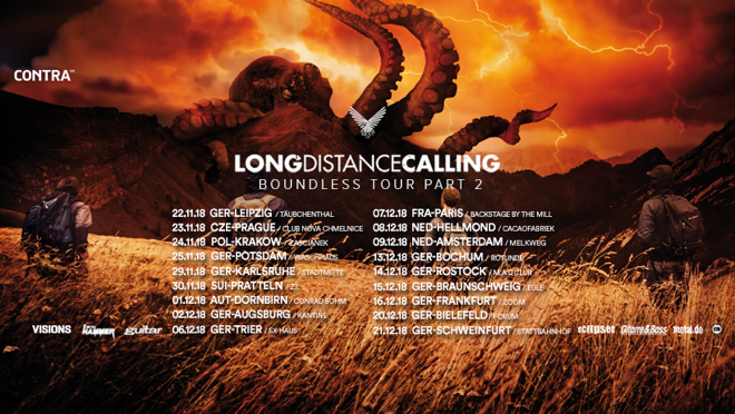 long distance calling 2018