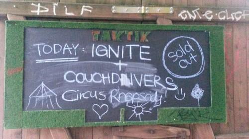 Ignite, Circus Rhapsody, Couchdivers