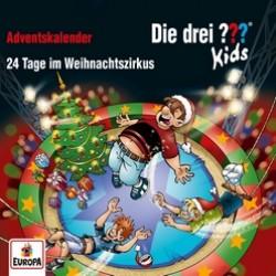 Die drei Fragezeichen Kids – 24 Tage im Weihnachtszirkus (Adventskalender)