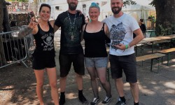 CRITICAL MESS - Interview bei den Metaldays, Slowenien (Juli 2019)