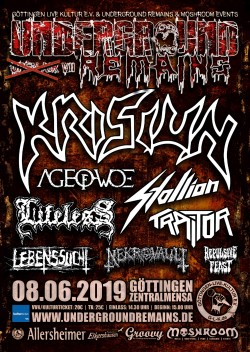 Underground Remains (Open Air) Pt. Vll - Festivalbericht