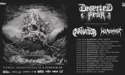 Deserted Fear, Carnation & Hierophant LIVE - Lux, Hannover