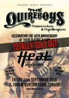 Quireboys, HEAT, Aaron Buchanan and the Cult Classics, Those Damn Crows - O2 Forum, Kentish Town, London, UK
