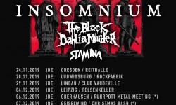 Insomnium, The Black Dahlia Murder & Stam1na LIVE  -  Capitol, Hannover