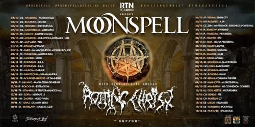 Moonspell, Rotting Christ & Silver Dust